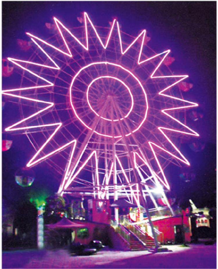 LETIAN kids ferris wheel fair theme park-2