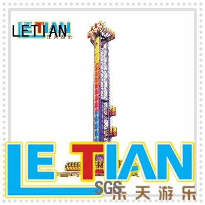 LETIAN High-quality sky drop ride manufacturers entertainment