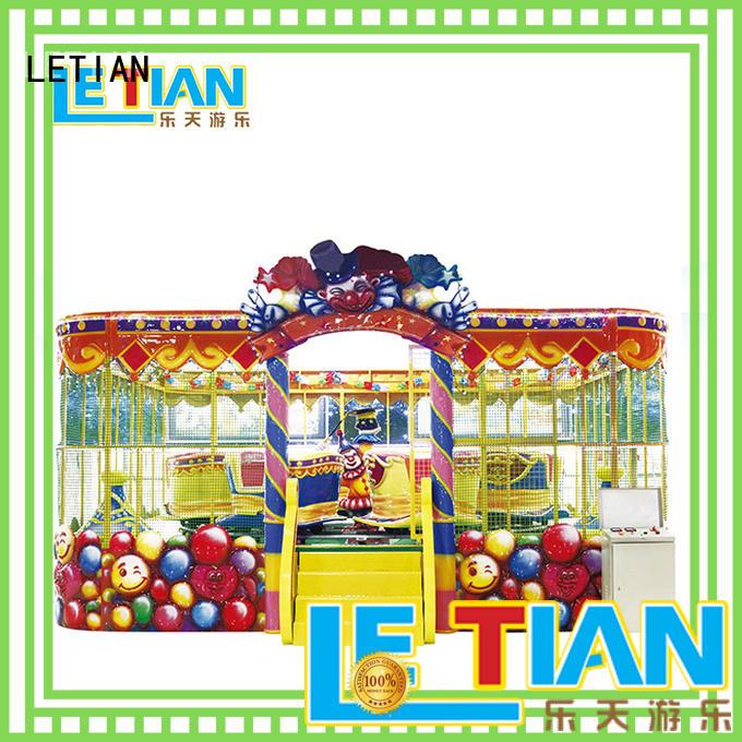 LETIAN Wholesale theme park equipment park playground