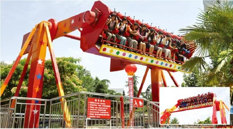 colorful extreme thrill rides sale facility playground-2