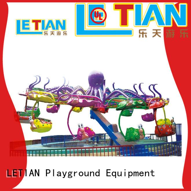 LETIAN outdoor amusement equipment manufacturer playground
