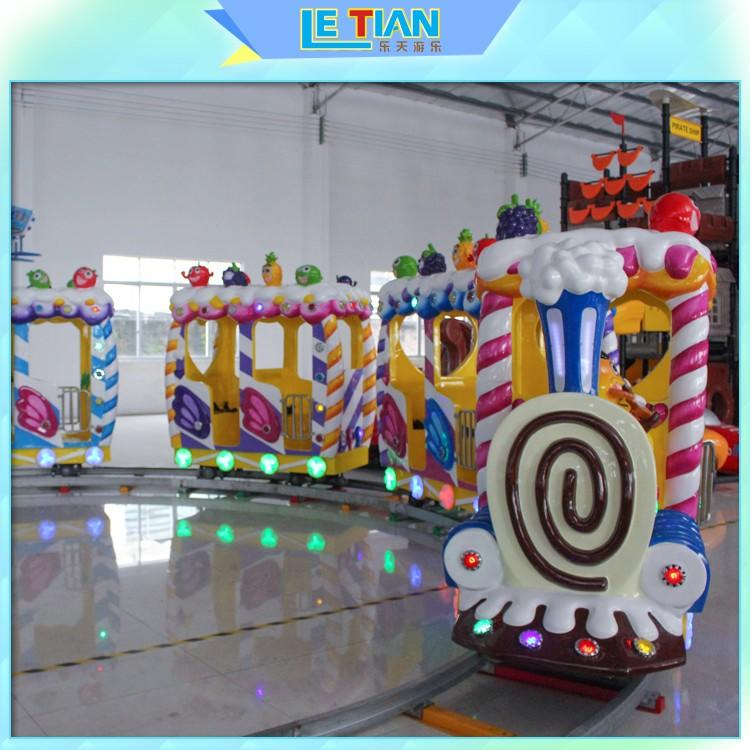 LETIAN mechanical carnival train ride for sale mall-1