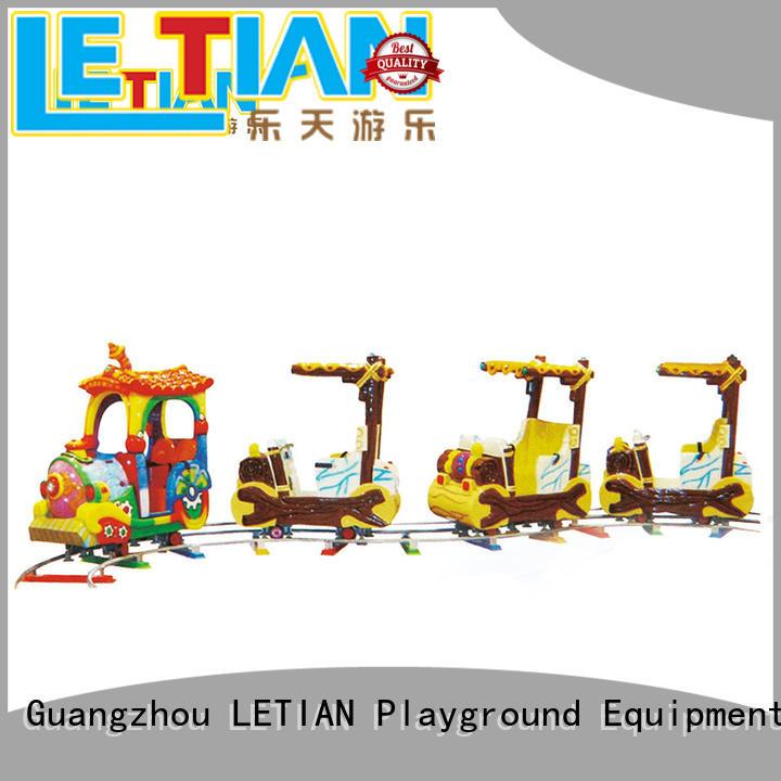 LETIAN 26 train amusement park for kids children's palace