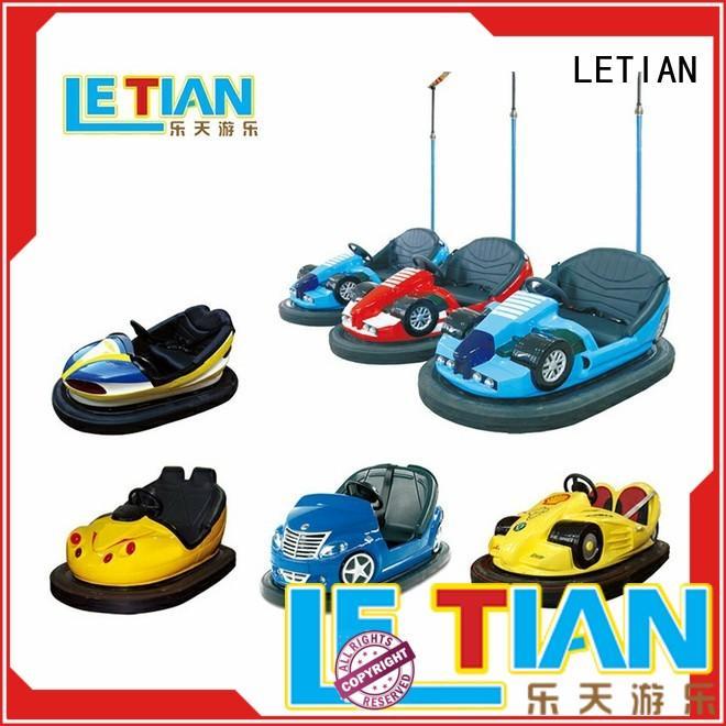 Kids theme park with antenna bumper car manufacturer LT-7068A