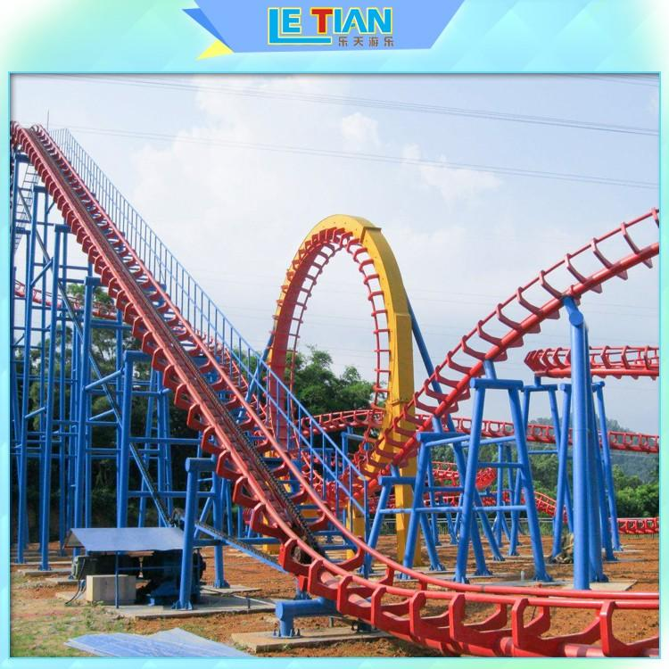 lt7009a roller coaster for kids mall LETIAN-1