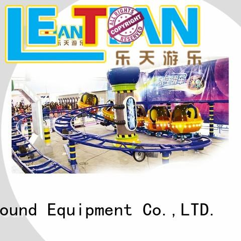 LETIAN sliding free roller coaster building games for kids playground