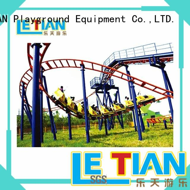 vertical childrens roller coaster fun theme park LETIAN