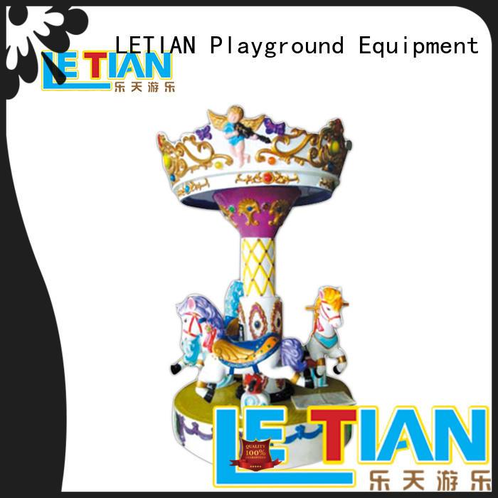 LETIAN games carousel for kids for kids fairground