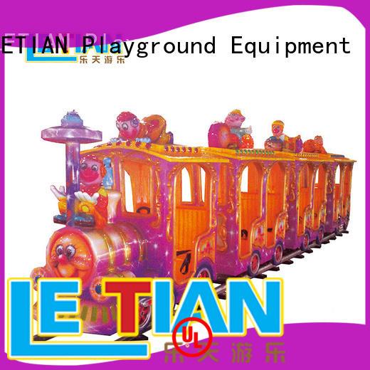 Factory made deluxe electric 14 seats train for amusement park tourist LT-7078C