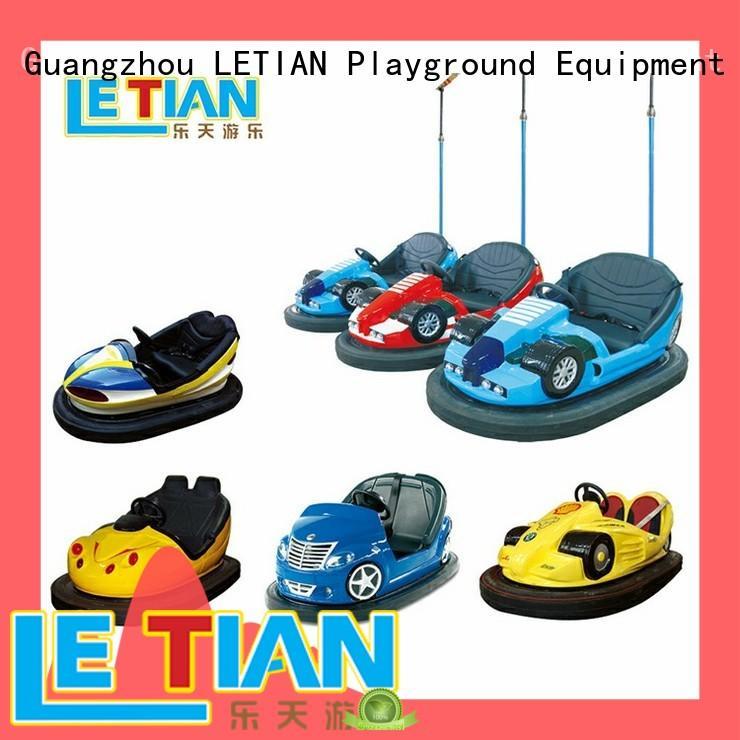LETIAN antenna bumper car games for kids park