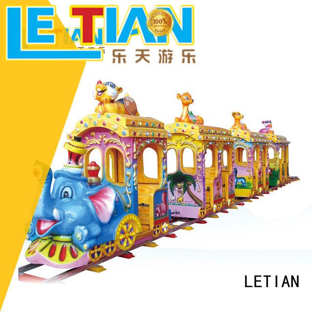 LETIAN Best amusement train rides factory life squares