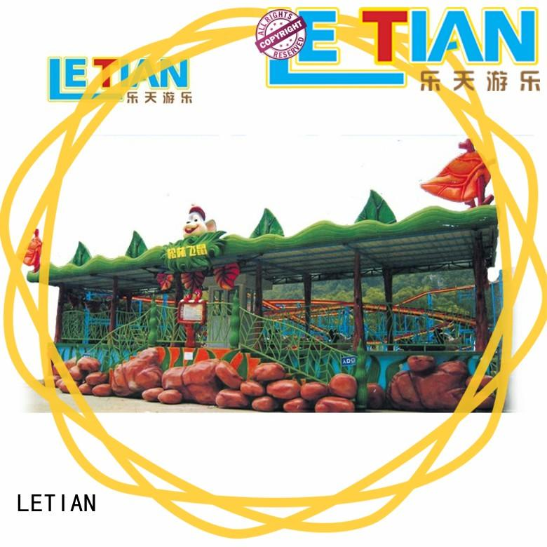 LETIAN surfing roller coaster factory theme park