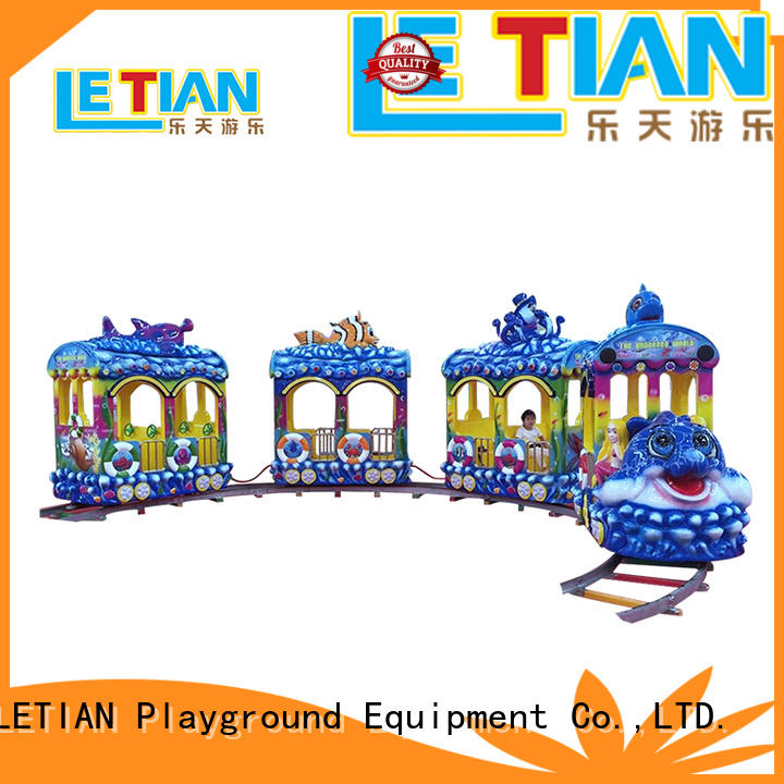 mechanical park train ride small for kids mall