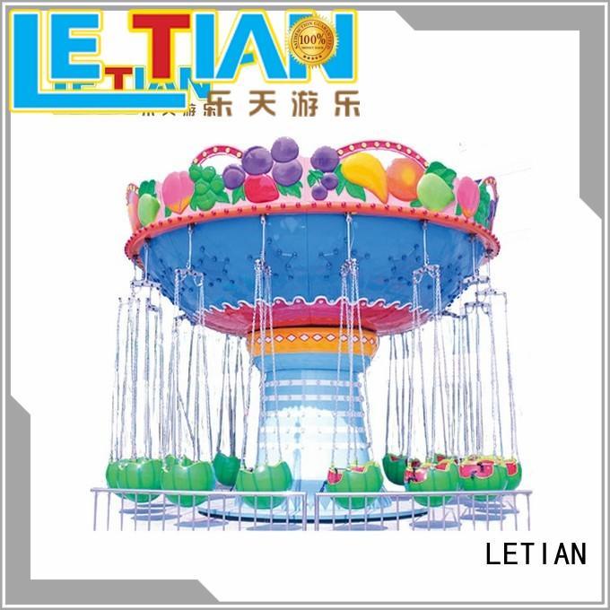 Children amusement park equipment 16 seats fruit flying chair LT-7054B