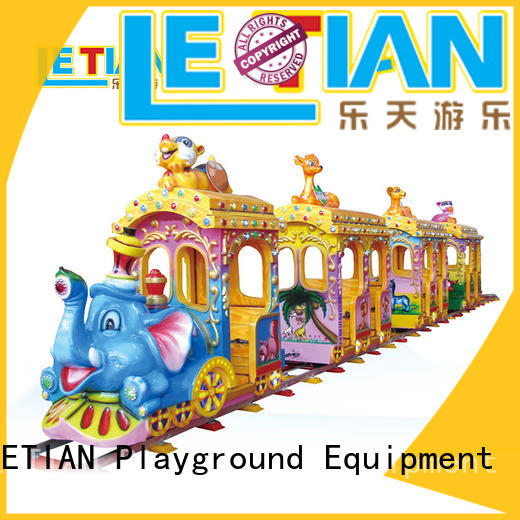 LETIAN orbit small trains for parks manufacturers park playground