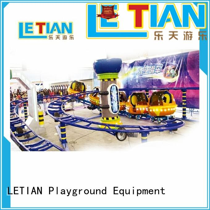 LETIAN can crazy roller coaster for children playground