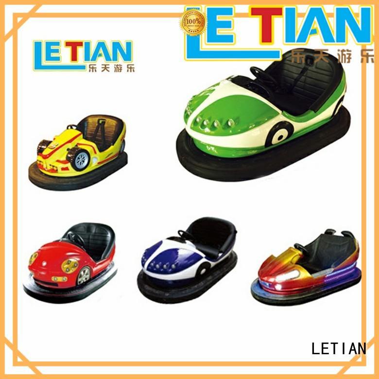 LETIAN Best kids bumper cars factory entertainment