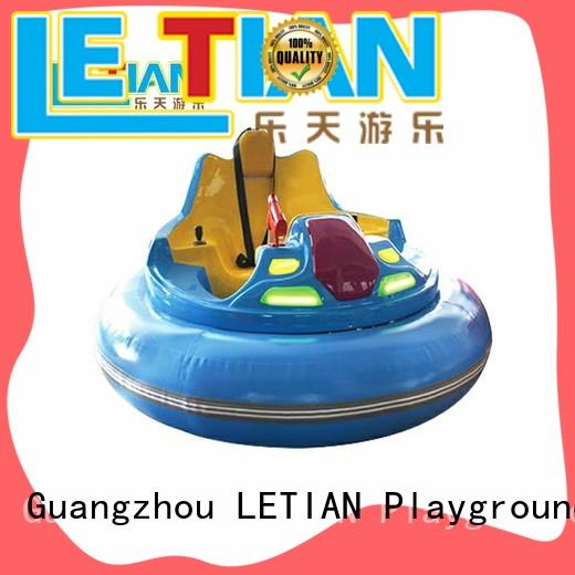LETIAN fashionable kids bumper cars for kids zoo