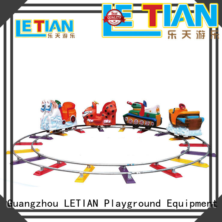 LETIAN small amusement train rides for sale worm mall