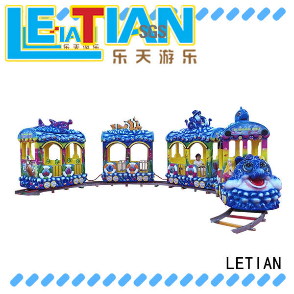 LETIAN Top small ride on trains for business children's palace