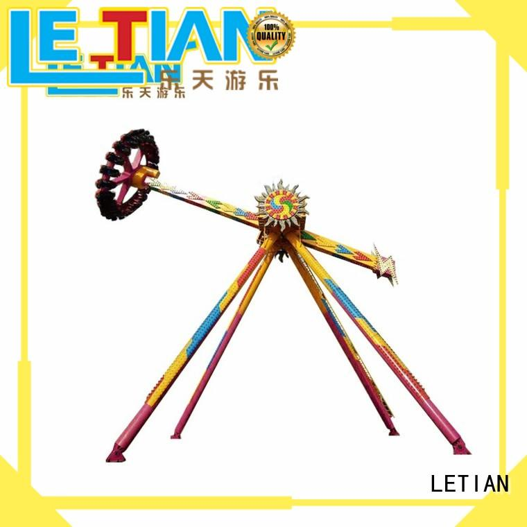 LETIAN reinforce central park rides for kids mall