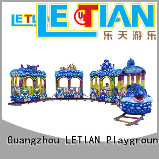 LETIAN small small trains for parks spray children's palace