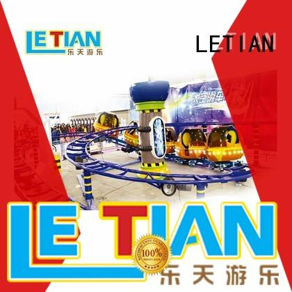 LETIAN dragon scary roller coasters factory playground