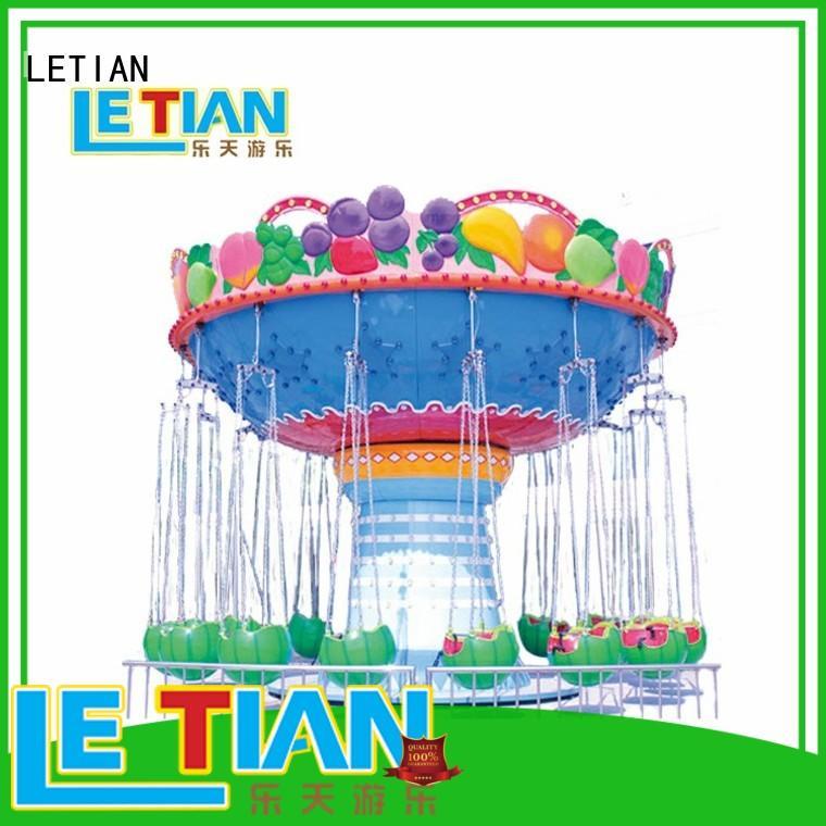 LETIAN lt7013a carnival swing ride carousel zoo