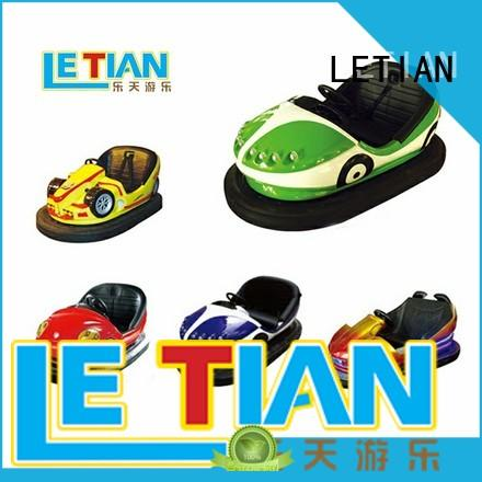 LETIAN lt7069 kids bumper cars with antenna park