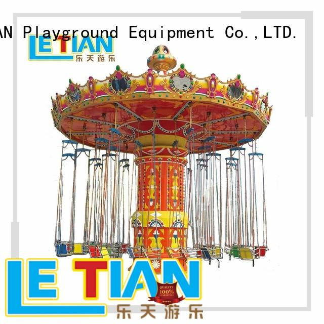 Exciting amusement park ride swing flying chair ride for sale LT-7054C