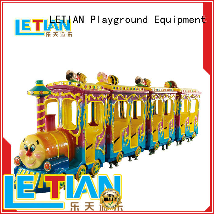 LETIAN small Kids Train for kids life squares