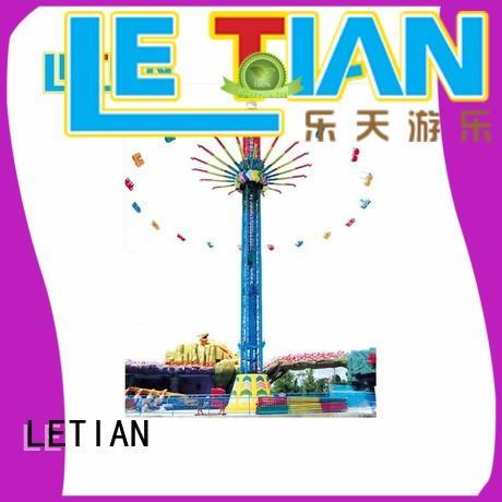 LETIAN specialized swing ride carousel zoo