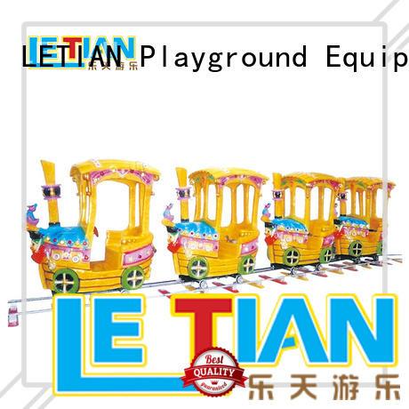 LETIAN mechanical amusement park train rides manufacturer park playground