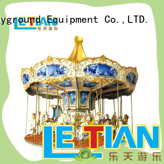 carnival mini carousel small theme park LETIAN