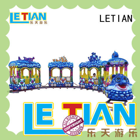 LETIAN lt7078b carnival train rides for sale for kids mall