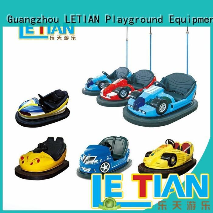 LETIAN lt7073a bumper cars history manufacturer amusement park