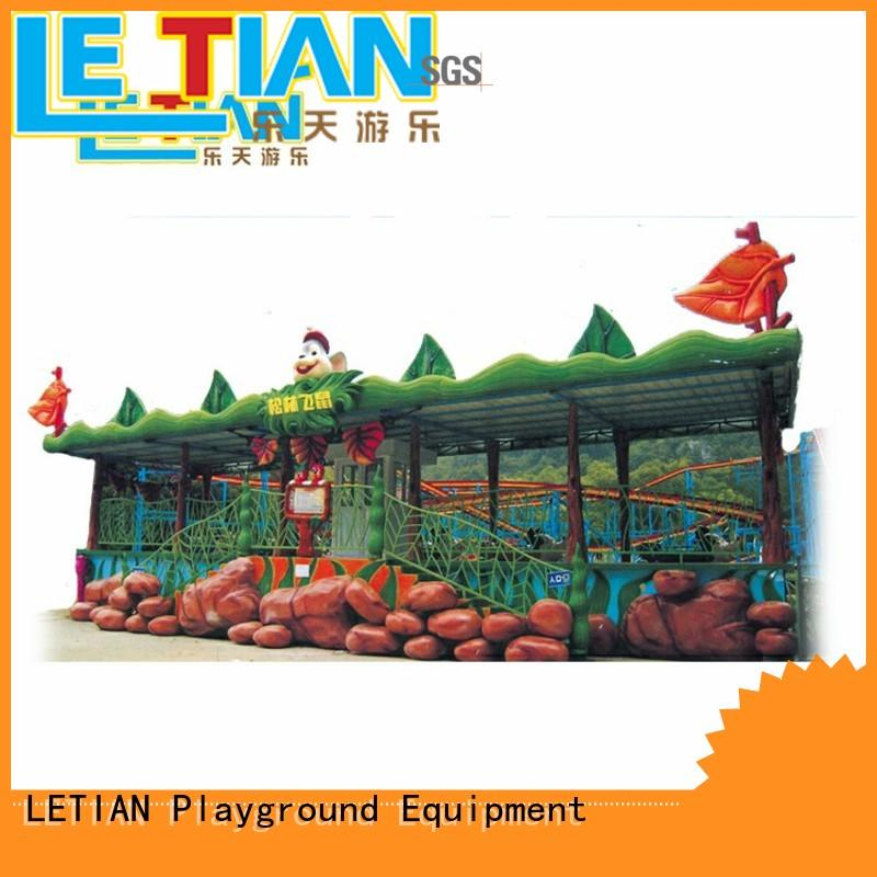 LETIAN sale play roller coaster games free company theme park