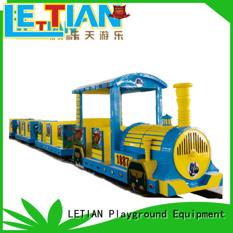 LETIAN small park train for kids life squares