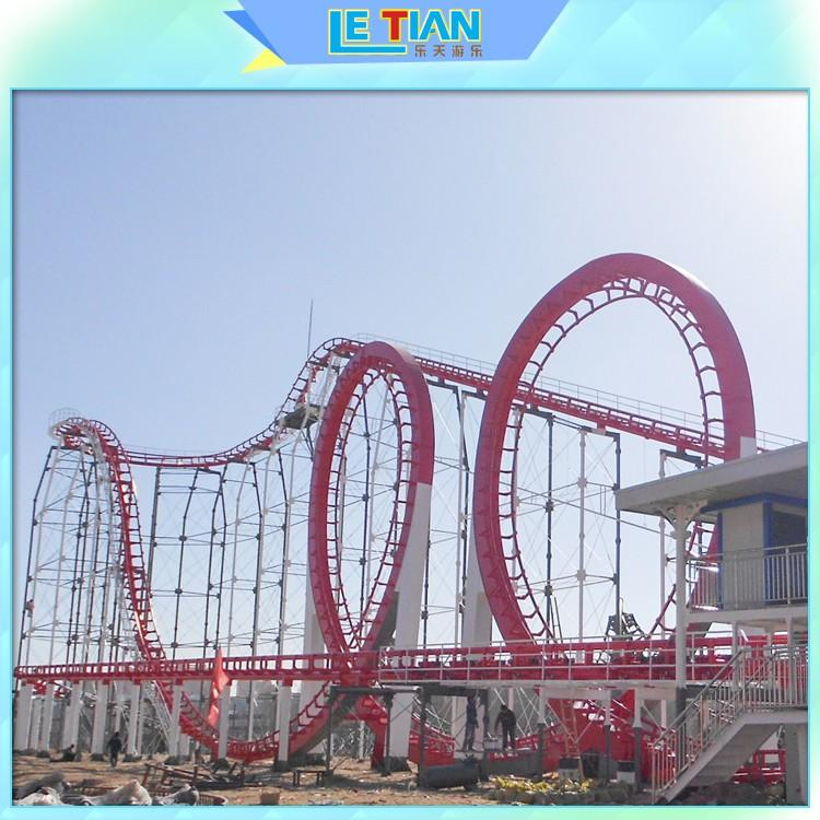 Factory made crazy roller coaster mouse for children carnival-2