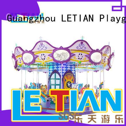 LETIAN lt7031b ride on carousel for kids theme park