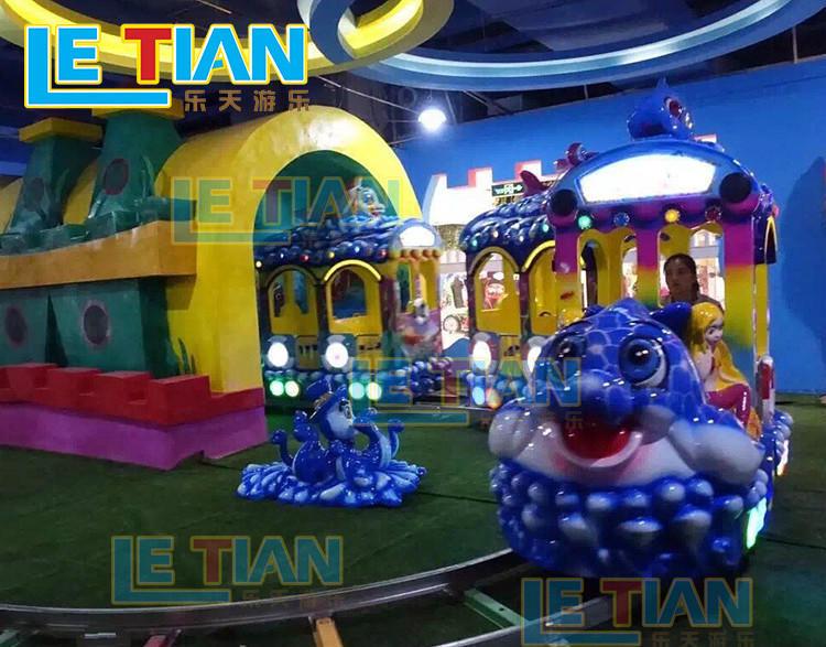 orbit amusement train rides lt7077a for kids mall-1
