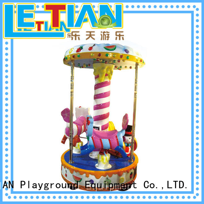 LETIAN durable childrens carousel customized carnival