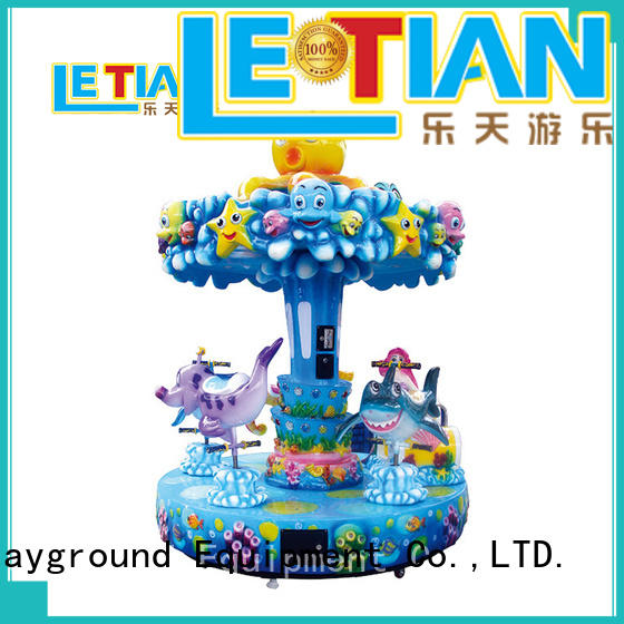 LETIAN Latest a children's carousel Supply shopping centers