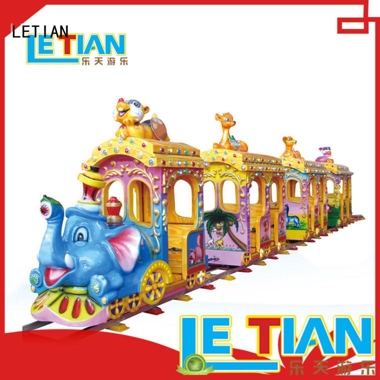mechanical train theme park tourist China park playground