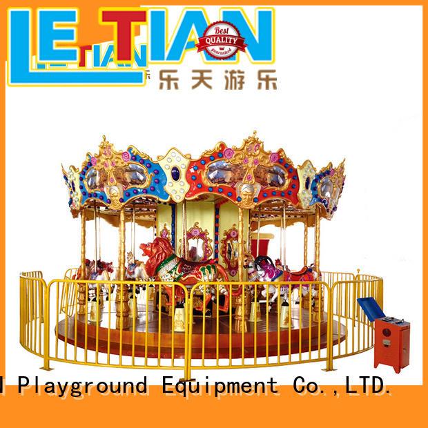 18 carousel child customized theme park LETIAN