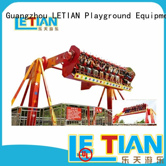 LETIAN travel extreme thrill rides factory playground