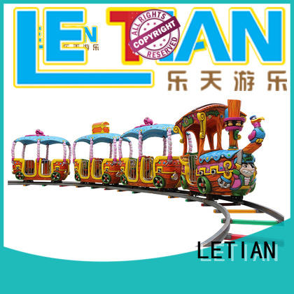 Best amusement train rides colorful China park playground