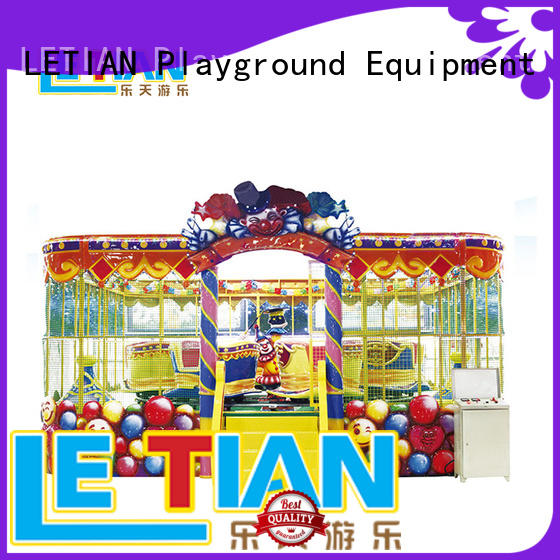 LETIAN Wholesale amusement train China mall