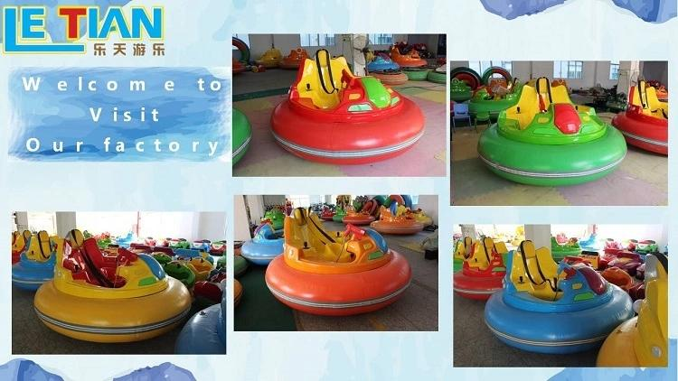 LETIAN electric electric bumper cars with antenna park-3