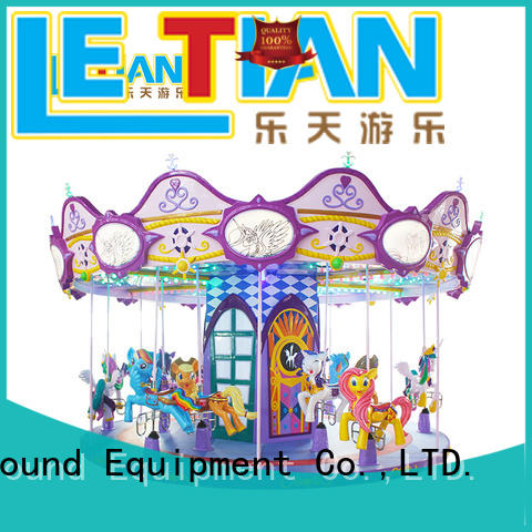 LETIAN 24 seats amusement park rides for kids design theme park